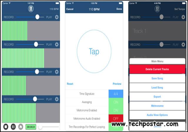 App Multi Track Song Recorder