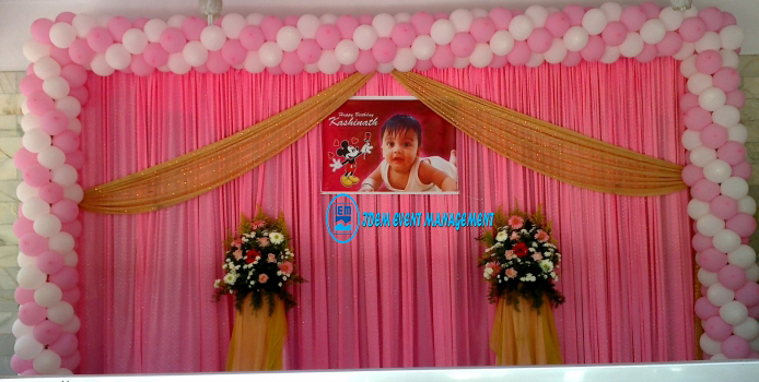 Birthday Party Decoration Stage (Code IEMB1007)