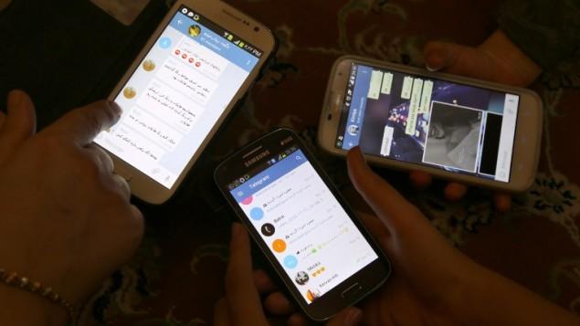 إيران مواقع التواصل الإجتماعي