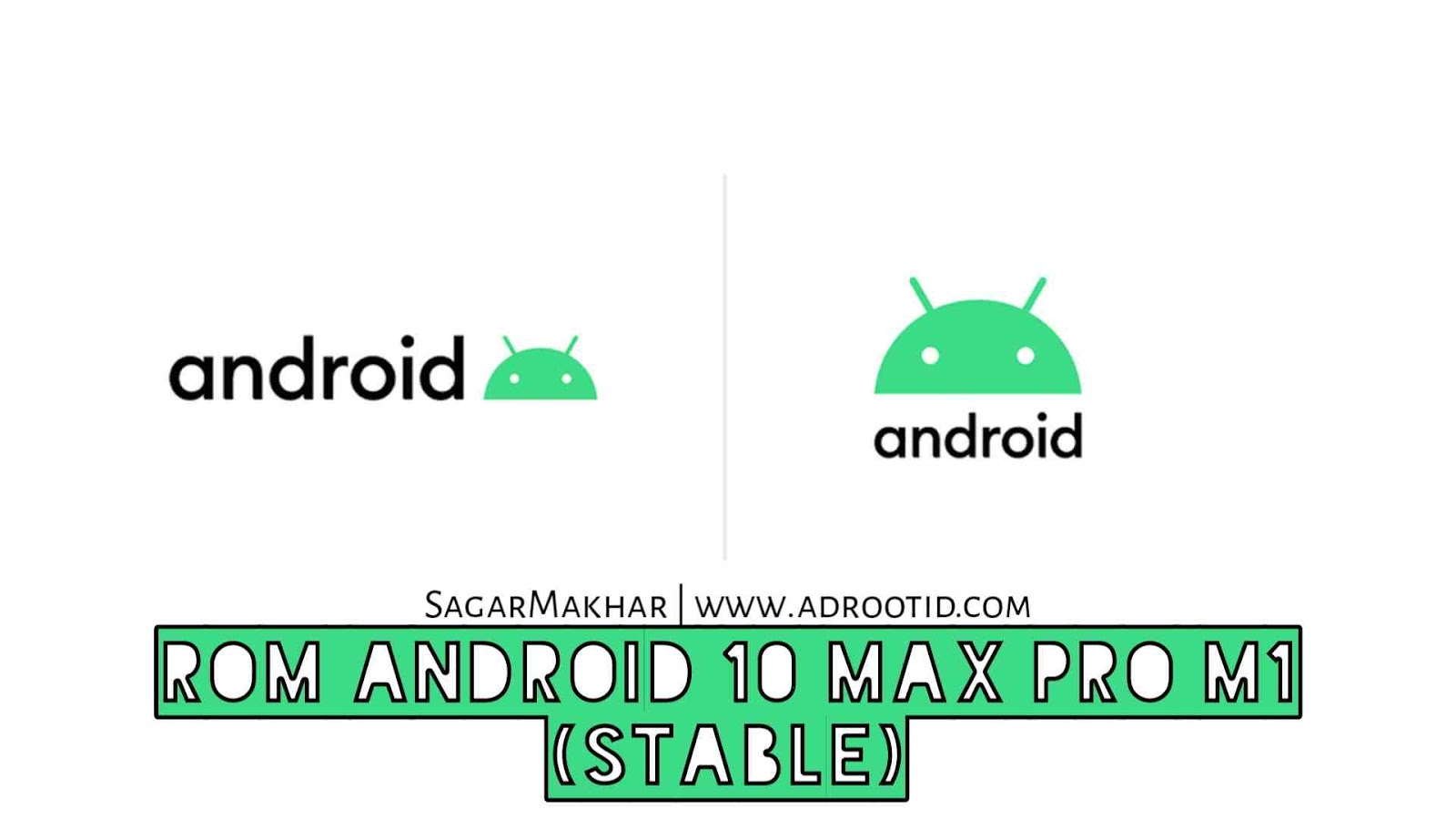 Rom aosp android 10 max pro m1 x00td