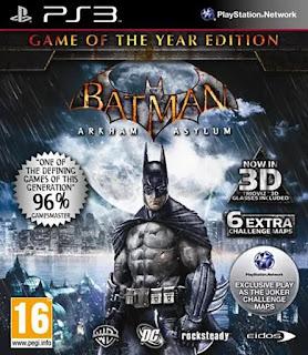 BATMAN ARKHAM ASYLUM GOTY EDITION PS3 TORRENT