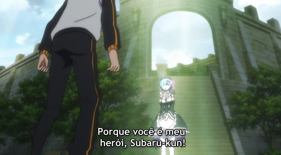 comentando re zero episodio 18