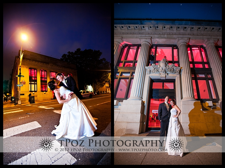 Philadelphia Trust Venue Wedding Bride Groom