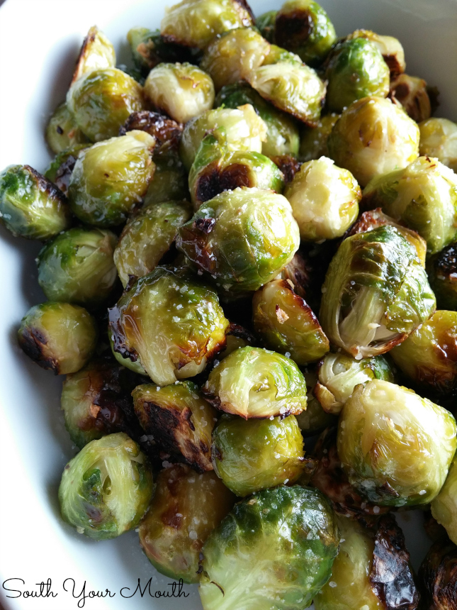 roasted brussels sprouts 1 5 lbs fresh brussels sprouts 3 tablespoons ...