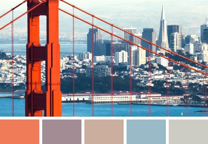 Golden Gate Color Schemes