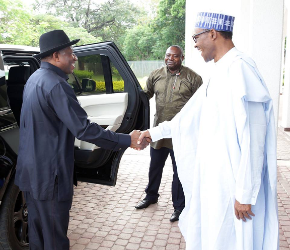 jonathan meeting buhari