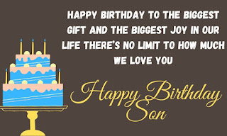 inspirational birthday wishes for son