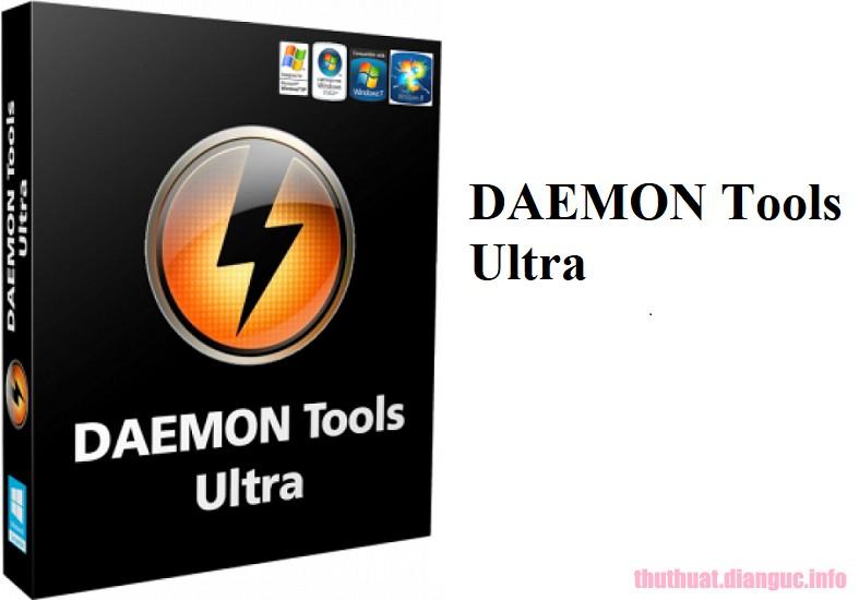 Download DAEMON Tools Ultra 5.5.1.1072 Full Crack