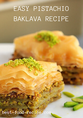 EASY PISTACHIO BAKLAVA RECIPE