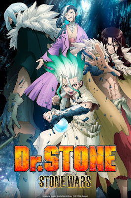 Dr. Stone: Stone Wars 2ª Temporada 2021 - HDTV 1080p Completo Legendado