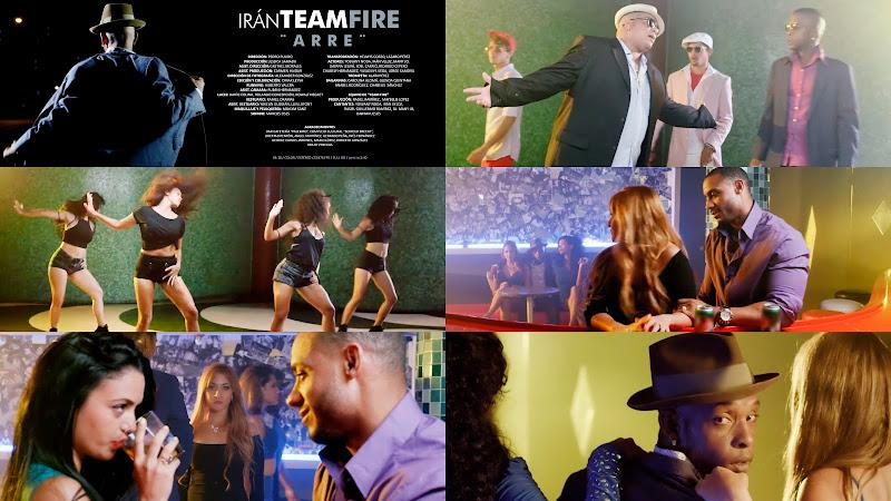 Irán TEAM FIRE - ¨Arre¨ - Videoclip - Director: Pedro Pulido. Portal Del Vídeo Clip Cubano. Música popular bailable cubana. Cuba.