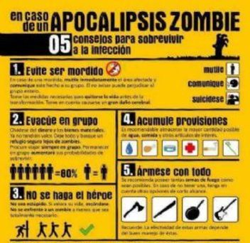 Manual apocalipsis zombie