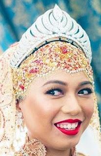 diamond crescent tiara brunei lady Dayang Izzat Hayati binti Zakaria