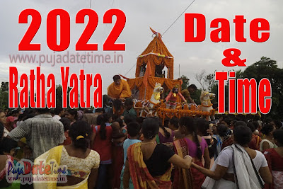 2022 Rath Yatra Date & Time in India