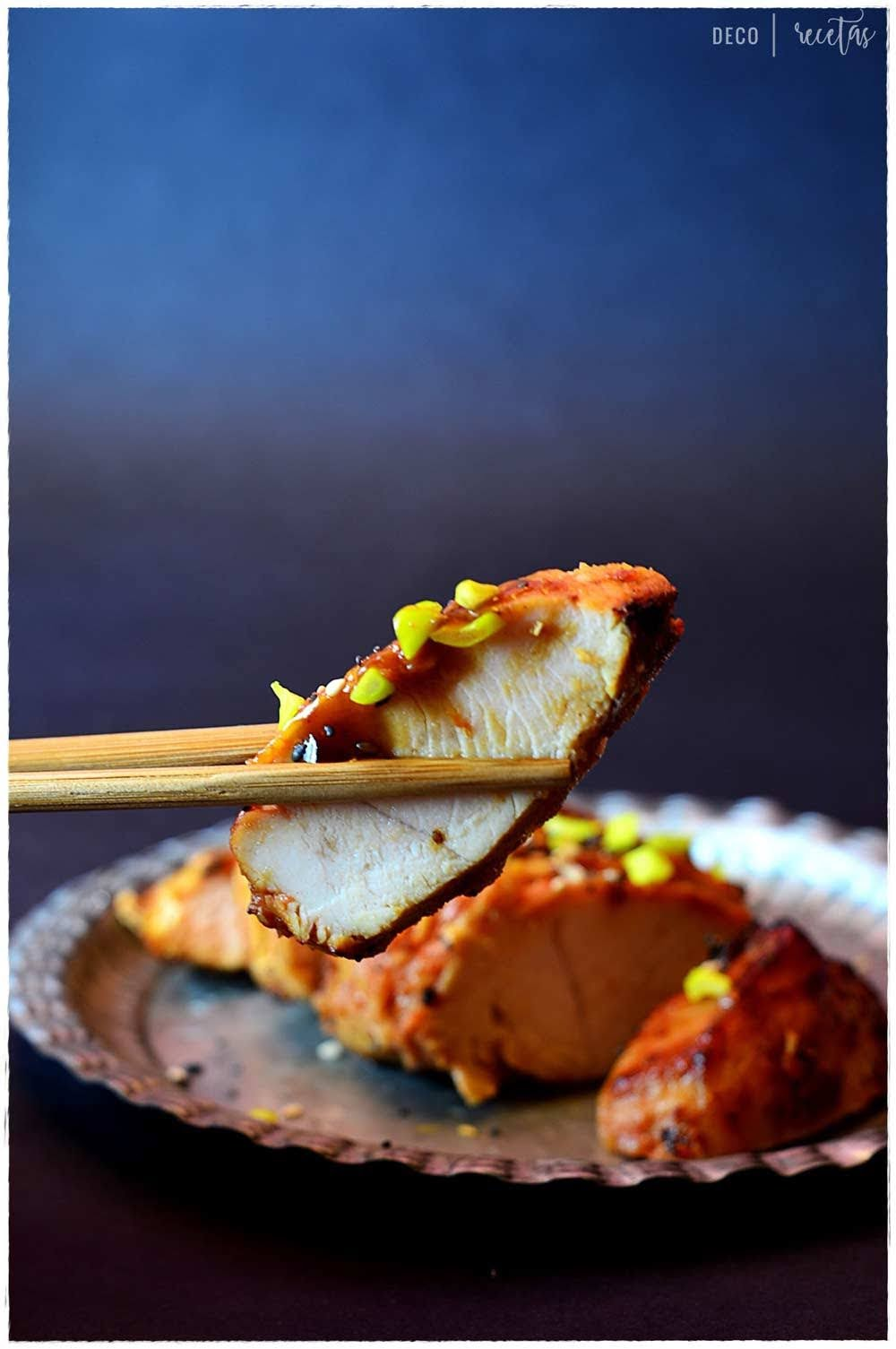salsa teriyaki pollo