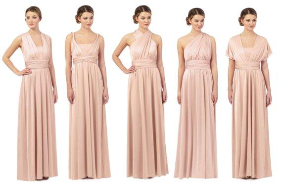Multiway Chiffon Bridesmaid Dress