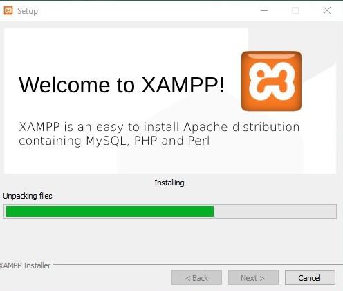 Proses Instalasi XAMPP