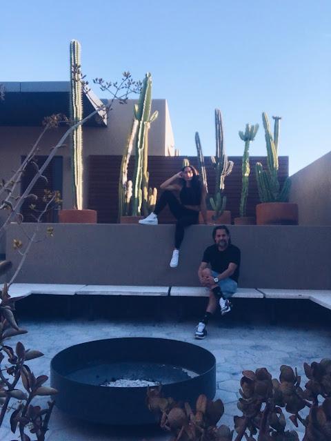 Jetset couple Mexico