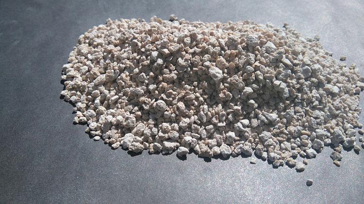 gránulos de carbonato de calcio