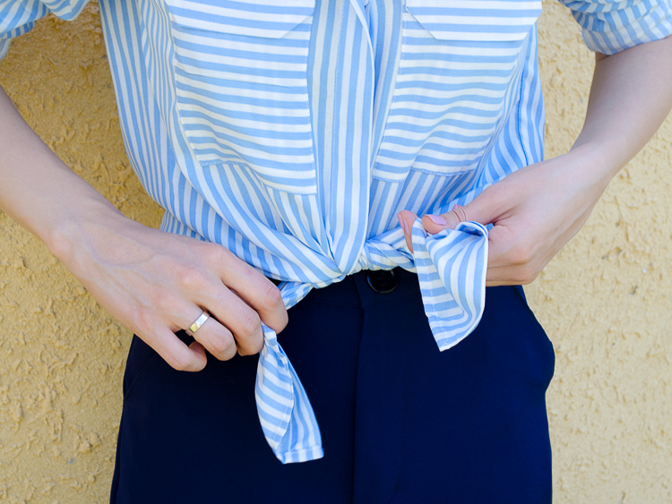 fashion-blogger-outfit-stripe-shirt-navy-cullotes-asos