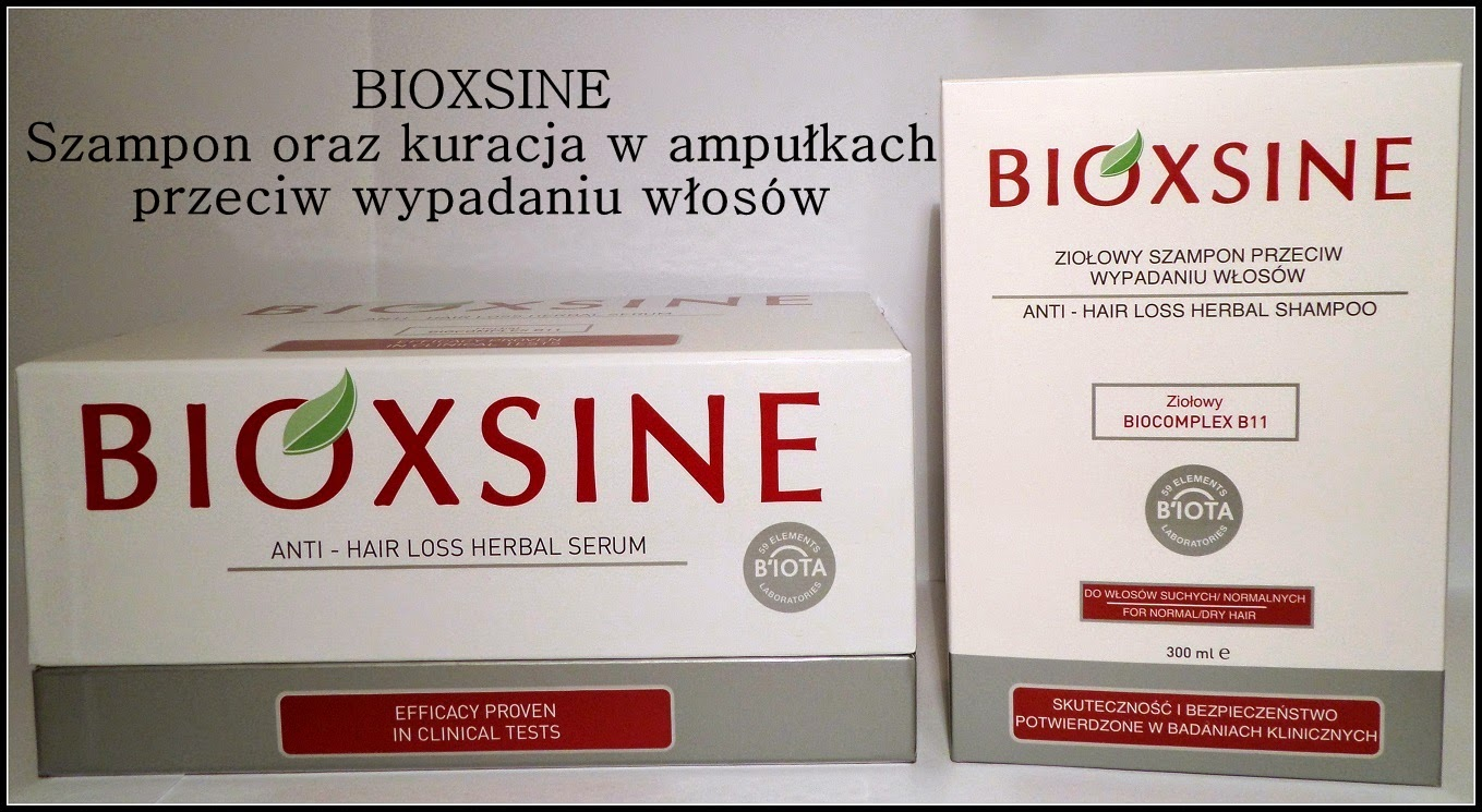 wypadanie włosów bioxsine