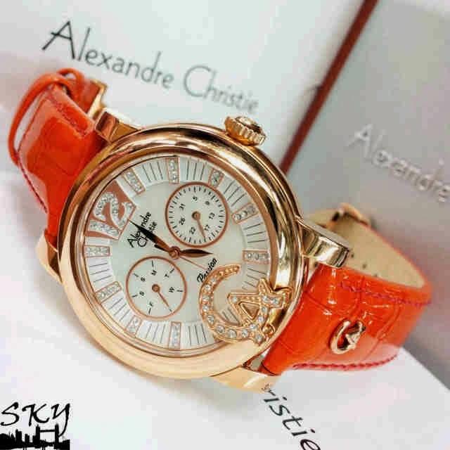 20 Jam Tangan Wanita Alexandre Christie Dengan Desain
