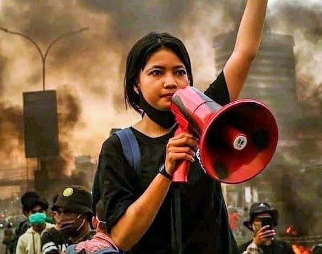 Pelesetkan Pancasila hingga Buat Najwa Shihab Penasaran, Sosok Wanita Milenial Ini Buka Suara