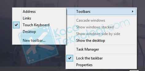 cara menampilakn menu keyboard virtual