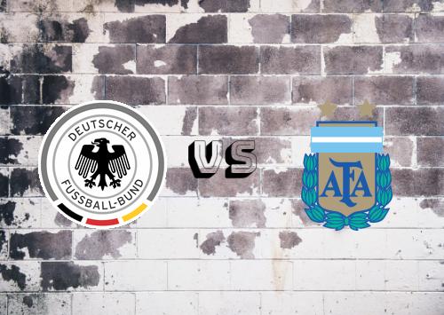 Alemania vs Argentina  Resumen y Partido Completo