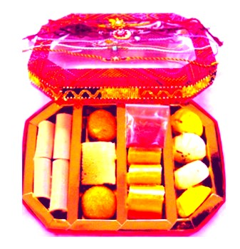 Happy Rakshabandhan Gifts Sweets for sisters