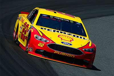 In addition, Team Penske's Ryan Blaney and Joey Logano finished P7 and P9 respectively.