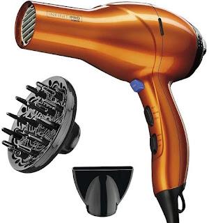 INFINITIPRO BY CONAIR 1875 Watt Salon Performance AC Motor Styling Tool/Hair Dryer(Orange)(Best Hair Dryer, Best Blow Drye)