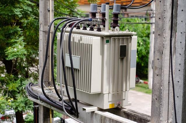หม้อแปลงไฟฟ้าหน้าบ้าน