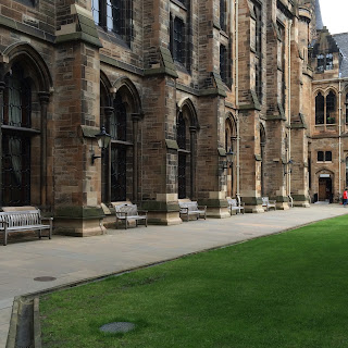 Walls of Glasgow University