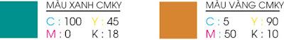 Mã màu CMYK của logo Viettel