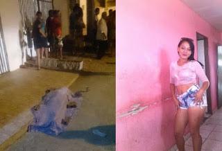 Jovem de 20 anos é assassinada a tiros no Monte Santo em Picuí