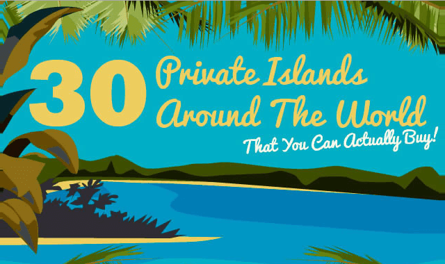 Image: 30 Private Islands Around The World That You Can Actually Buy