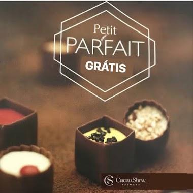 Chocolate Petit Parfait Grátis Cacau Show