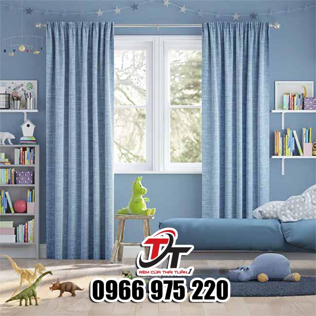 Rèm vải chống nắng nóng phòng ngủ sang trọng, Rèm cửa Phan Rang Ninh Thuận