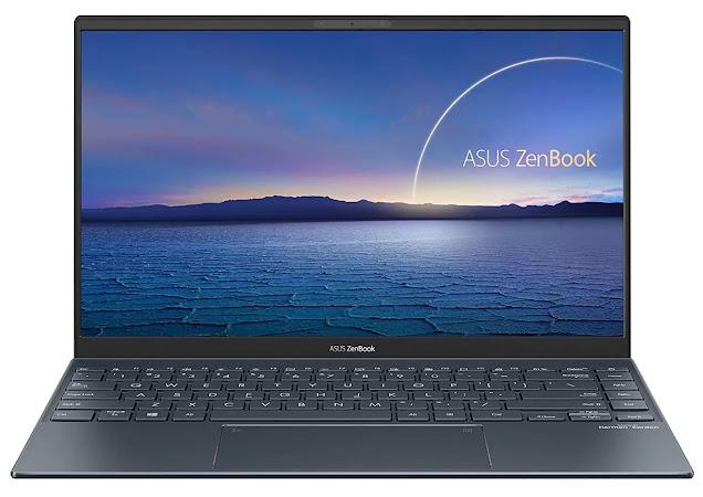 ASUS ZenBook 14 (2020) Intel Core i5-1135G7 11th Gen 14-inch FHD Thin and Light Laptop (8GB RAM/512GB NVMe SSD/Windows 10/MS Office 2019/Intel Iris Xᵉ Graphics/Pine Grey/1.17 kg), UX425EA-BM501TS