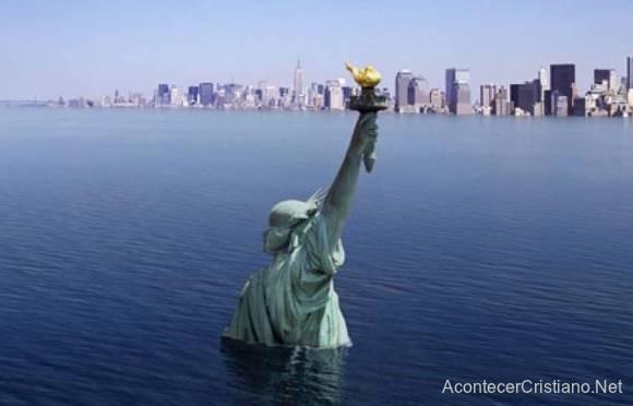 Subida del nivel del mar en las costas del mundo