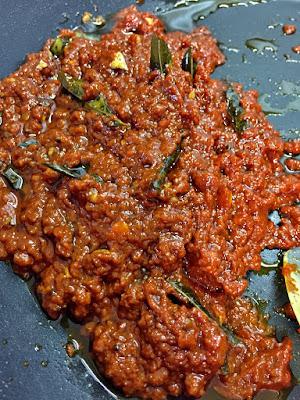 Allam Pachadi or Ginger Tamarind Pickle