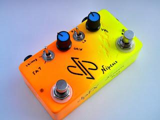 dpFX NEMESIS Guitar Fuzz/distortion, dual gain, high gain (Νέμεσις)