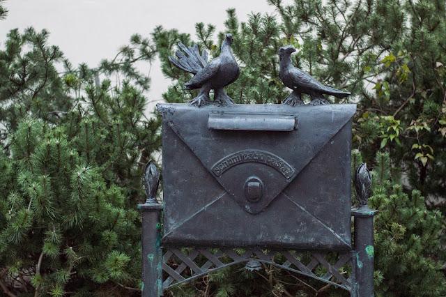 Kłajpeda; Litwa; Lietuva; Klaipeda; Lithuania; poczta; list; gołąb; pastas; laiskas; laiskai; balandis;letter