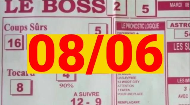 Pronostics quinté+ pmu Mardi Paris-Turf TV-100 % 08/06/2021