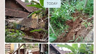 2 Rumah di Bruno Roboh dan Belasan Rumah Rusak Akibat Tanah Bergerak