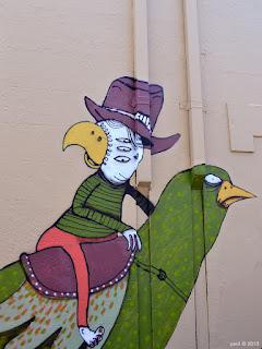 bird cowboy
