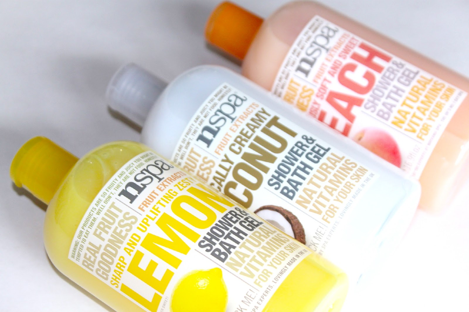NSPA Shower and Bath Gels Review