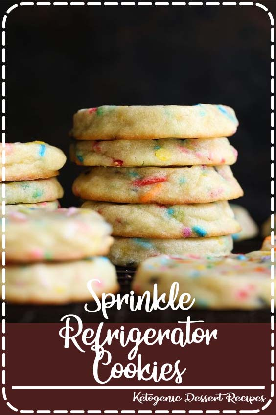 These are the ultimate DIY slice and bake cookie Sprinkle Refrigerator Cookies
