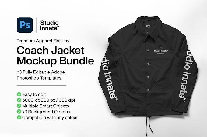 Coach Jacket - Mockup Bundle[Photoshop][5175713]
